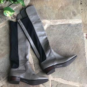 Charles by Charles David grey knee high boots